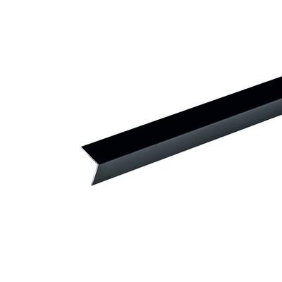 Profilo angolare a l in alluminio nero l 30 x h 30 x s 1 for Paraspigoli leroy merlin