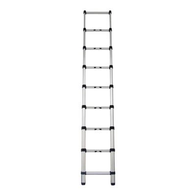 Scala telescopica alluminio gierre 9 gradini per lavori for Scale alluminio leroy merlin