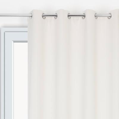 Tenda ultra oscurante con occhielli ecru 135 x 280 cm prezzi e offerte online leroy merlin - Oscurare vetro porta ...