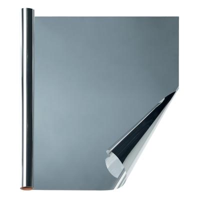 Pellicola per vetri argento 1600 x 750 mm prezzi e offerte online leroy merlin for Pellicola a specchio per vetri