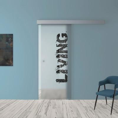 Porta da interno scorrevole Living 88 x H 215 cm reversibile prezzi ...