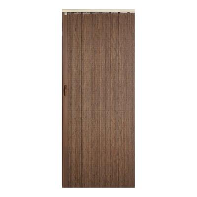 Porta a soffietto Espresso legno scuro L 85 x H 214 cm prezzi e ...