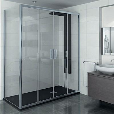 Porta doccia scorrevole manhattan 166 170 h 200 cm for Cabine doccia prezzi leroy merlin
