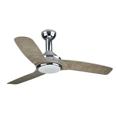Ventilatore da soffitto con luce led integrato gandia for Leroy merlin ventilatori da soffitto
