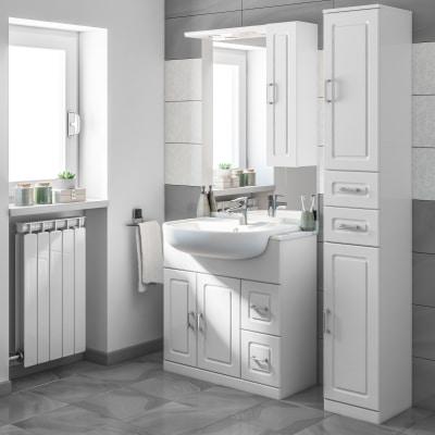 Mobile bagno paola bianco l 81 cm prezzi e offerte online leroy merlin - Leroy merlin mobile bagno ...
