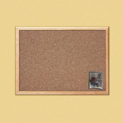 Bacheca di sughero 60 x 45 cm prezzi e offerte online for Rivestimento sughero leroy merlin