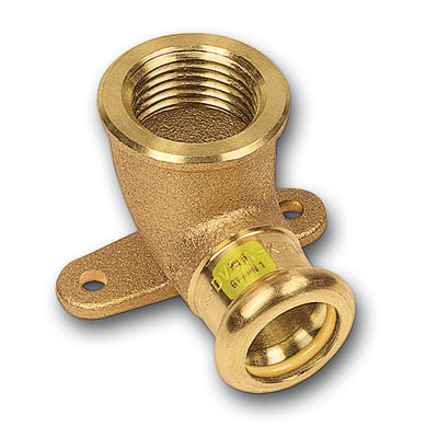 Raccordo a gomito con flangia per impianto gas mm for Impianto irrigazione terrazzo leroy merlin