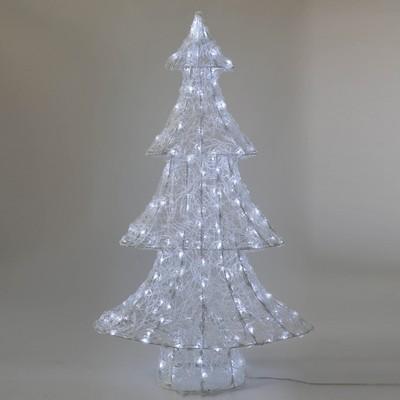 Albero Di Natale Leroy Merlin.Albero Bianco Freddo H 98 Cm Prezzo Online Leroy Merlin