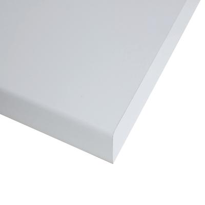Piano cucina su misura in laminato bianco , spessore 4 cm