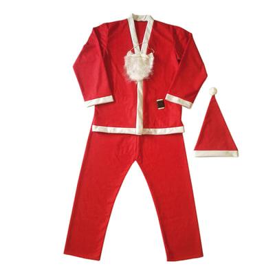 Abito Babbo Natale.Vestito Da Babbo Natale Taglia Unica Prezzo Online Leroy Merlin