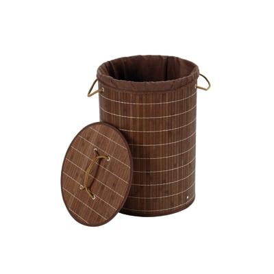 Portabiancheria bamboo weng meno di 50 l prezzi e offerte for Portabiancheria leroy merlin