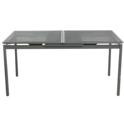 Tavolo Quadrato Allungabile Da Esterno.Tavolo Da Giardino Allungabile Allungabile Con Piano In Alluminio