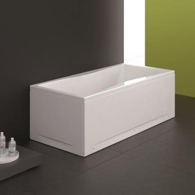 Vasca e pannello piatto bice 180 x 80 cm bianco prezzi e for Sdraio leroy merlin prezzi