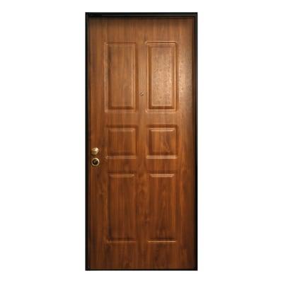 Porta Blindata Steel Noce L 90 X H 210 Cm Destra