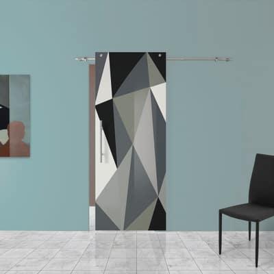 Porta da interno scorrevole carpet 3 88 x h 220 cm dx for Porta scorrevole esterna leroy merlin