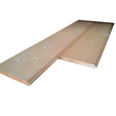 Listone sottotetto prima scelta abete grezzo naturale 20 x 180 x 2000 mm