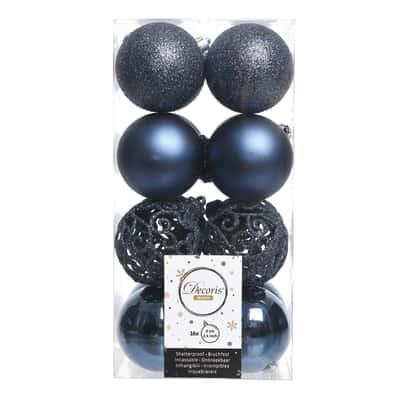 Box sfere blu ø 6 cm