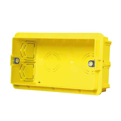 Scatola rettangolare Olan GDO10084 giallo