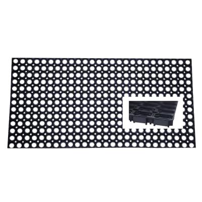 Zerbino Rubby nero 40 x 60 cm