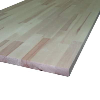 Piano cucina legno grezzo Faggio 2.8 x 60 x 245 cm prezzi e offerte ...