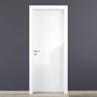 Porta da interno battente Bright 60 x H 210 cm reversibile
