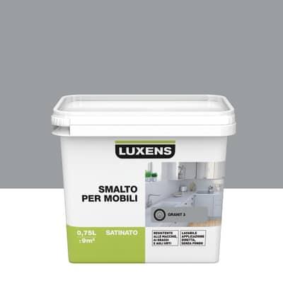 Smalto Per mobili Luxens Grigio Granito 3 satinato 0,75 L