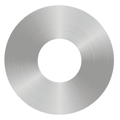 Plafoniera Hole acciaio Ø 30 cm