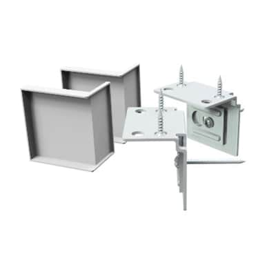 Accessori di montaggio Multikaz bianco L 103,2 x P 35,2 x H 31,7 cm