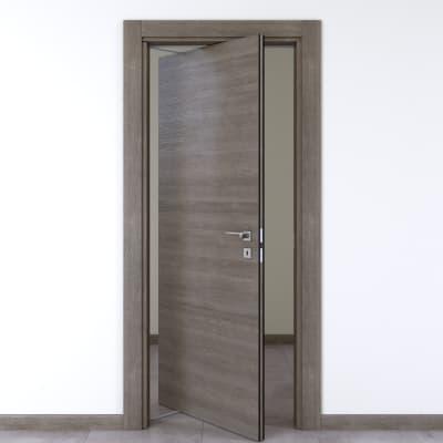 Porta da interno rototraslante Starwood pietra 70 x H 210 cm sx