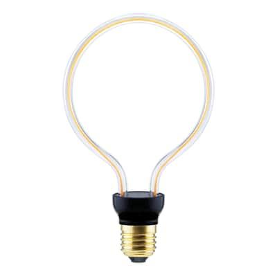 Lampadina decorativa LED E27 =40W luce calda 300°