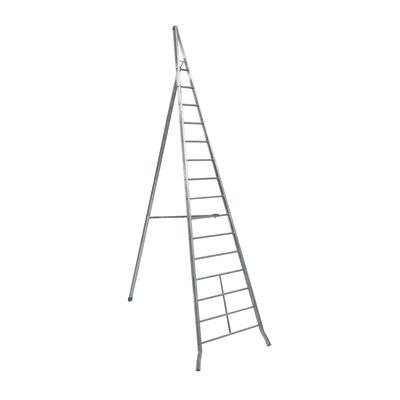 Scala agricola alluminio Facal 15 gradini, per lavori fino a 6 m
