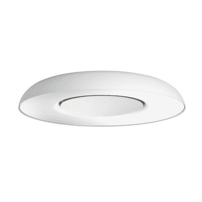 Plafoniera Still Hue bianco L 39 x H 7,1 cm