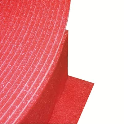 Rotolo isolante in polietilene Polietilene espanso adesivizzato pretagliato ad L Fortlan H 150 mm, spessore 6 mm