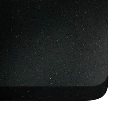 Alzatina su misura Stellar quarzo nero H 6 cm