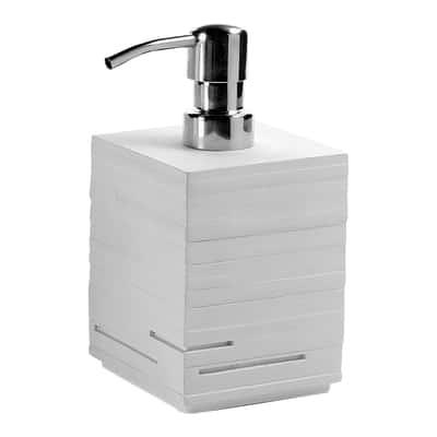 Dispenser sapone Quadrotto bianco