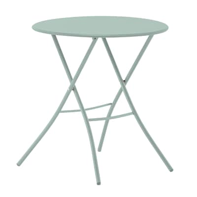Tavolo pieghevole Gaia, Ø 67 cm verde
