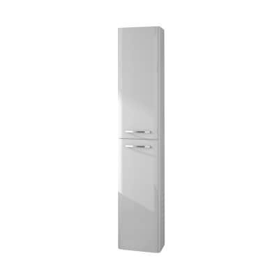 Colonna Best bianco 2 ante L 30 x H 160 x P 27 cm