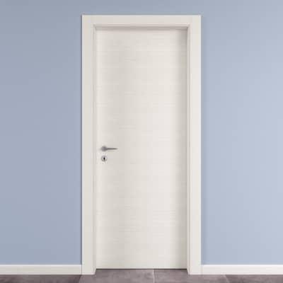Porta da interno battente Star Bianco matrix 60 x H 210 cm reversibile