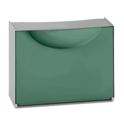 Scarpiera Harmony Box 1 anta a ribalta verde