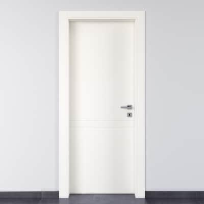 Porta da interno battente Rail bianco 70 x H 210 cm sx
