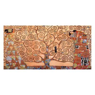 Quadro su tela albero della vita 30x60 prezzi e offerte for Leroy merlin quadri tela