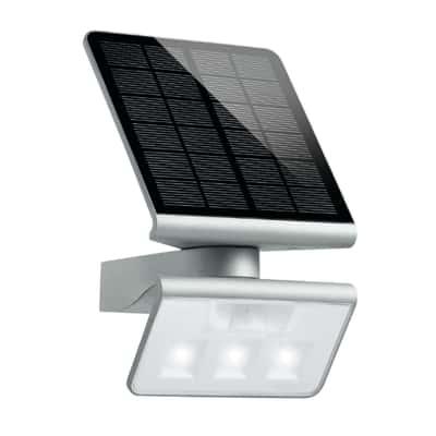 Lampade Solar per esterni acciaio 1,2 W