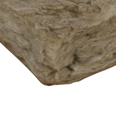 Rotolo in lana di roccia con carta kraft con rivestimento in carta Fortlan L 1200 mm x H 5000 mm, spessore 100 mm