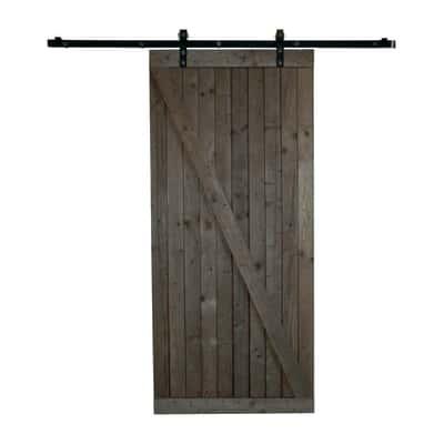 Porta da interno scorrevole Texas marrone 96 x H 220 cm reversibile ...