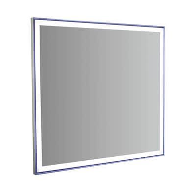 Specchio retroilluminato Quadra led 90 x 85 cm