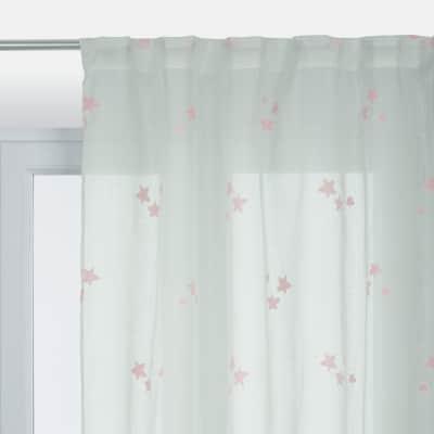Tenda Stelle rosa 140 x 280 cm