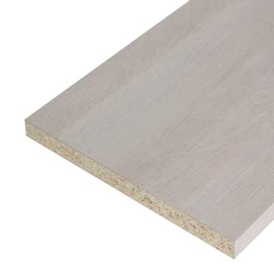 Pannello melaminico rovere chiaro 25 x 300 x 2500 mm