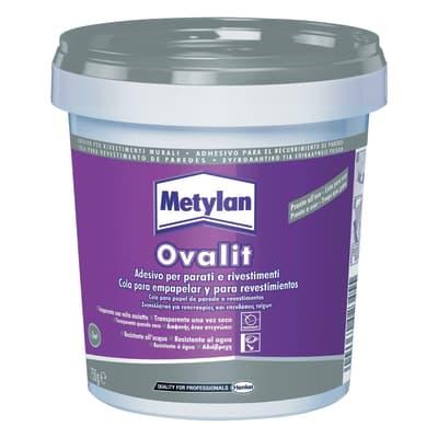 Colla per parati in pasta ovalit Metylan 750 g