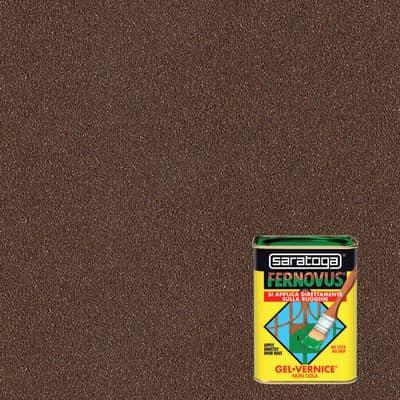 Smalto per ferro antiruggine Saratoga Fernovus marrone metallizzato 0,75 L