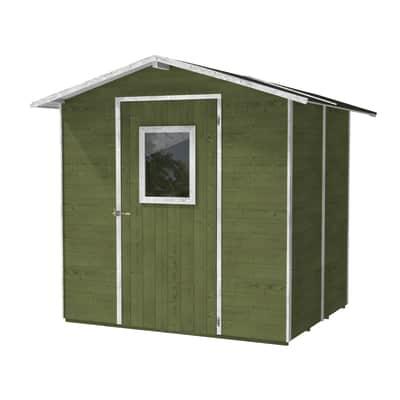 casetta in legno Vaniglia 3,96 m², spessore 19 mm